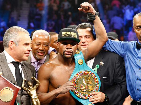 floyd mayweather defeats manny pacquiao 2015