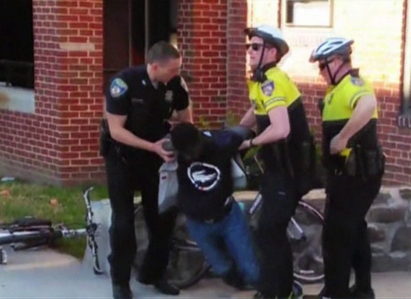 freddie gray arrest death 2015