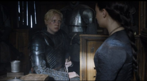 game of thrones sansa turns down brienne 2015