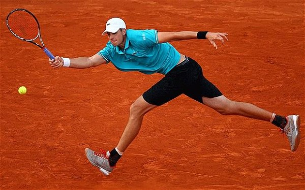 john isner going hard for 2015 rome masters open