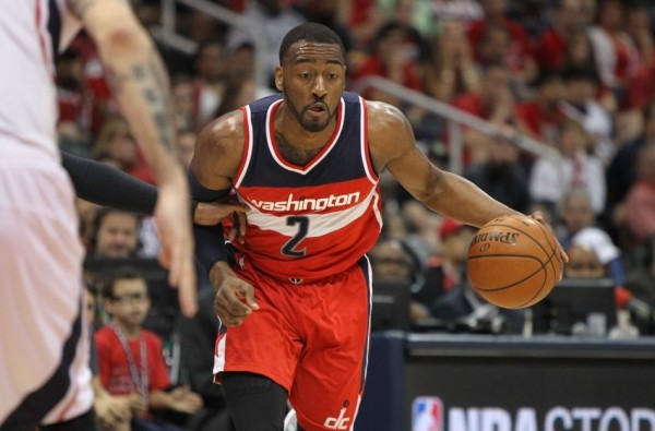 john wall washington wizards lose to atlanta hawks nba 2015
