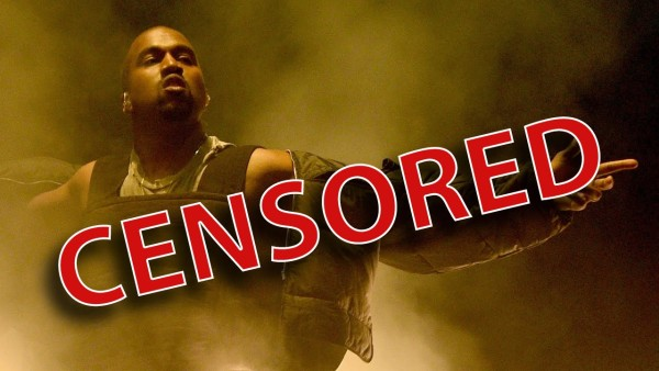 kanye west censored by awards shows 2015 gossip