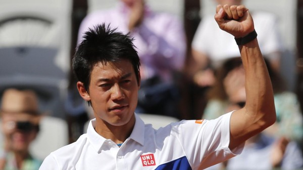 kei nishikori projection for 2015 french open images