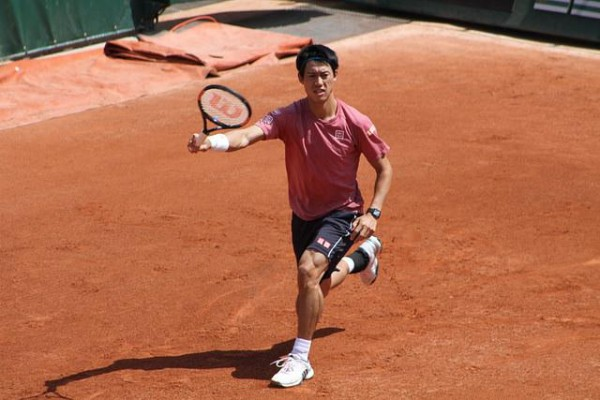 kei nishikori tennis run 2015 french open
