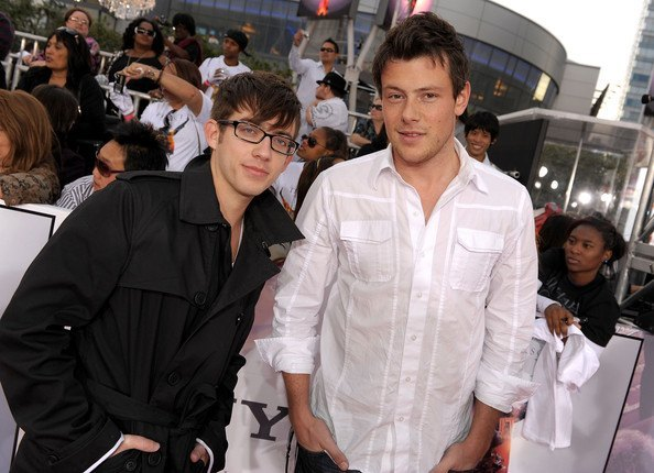 kevin mchale glee died when cory monteith died 2015 gossip