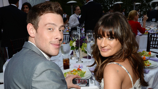 lea michele with cory monteith 2015 gossip