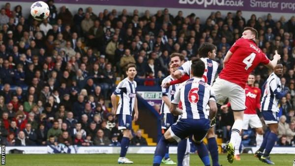 manchester united vs west brom premier league 2015