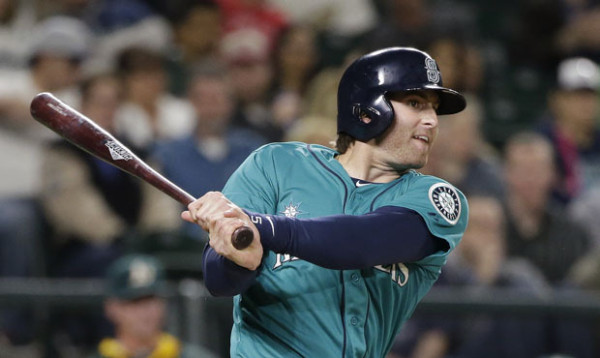 mariners brad miller week 6 american league winner mlb 2015
