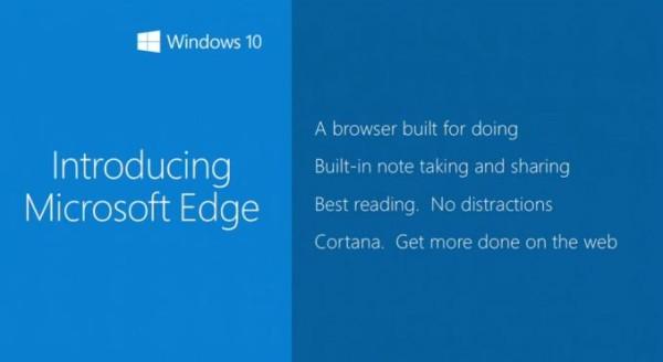 microsoft edge replaces spartan and internet explorer 2015