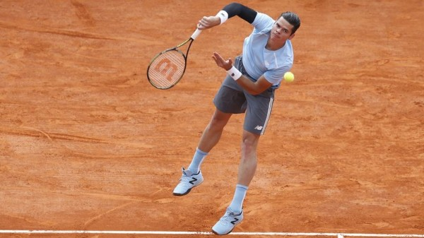 milos raonic beats juan monaco for madrid open 2015