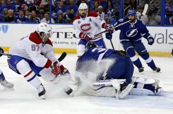 montreal canadiens beat tampa bay lighting game 4 stanley cup playoffs 2015