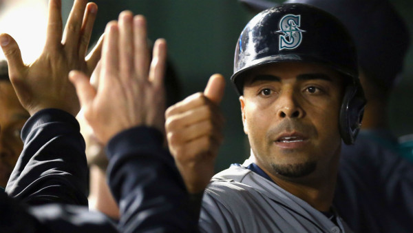 nelson cruz still topping seattle mariners american league mlb men 2015