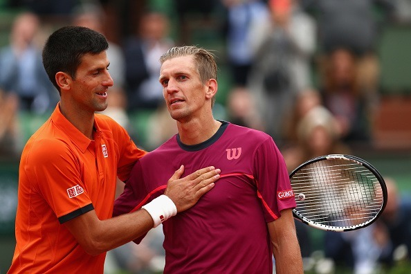 novak djokovic beats off gilles muller 2015 french open
