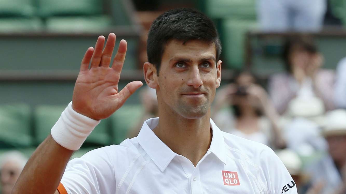 novak djokovic vs richard gasquet 2015 roland garros. Black Bedroom Furniture Sets. Home Design Ideas
