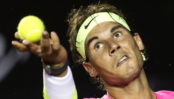 rafael nadal taking on madrid open 2015 tennis