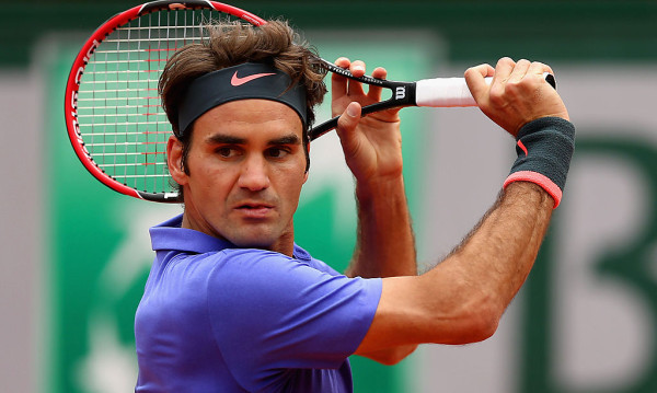 roger federer takes on gael monfils roland garros 2015 french open