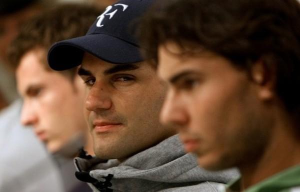 roger federer taking on rafael nadal load for madrid tennis open 2015
