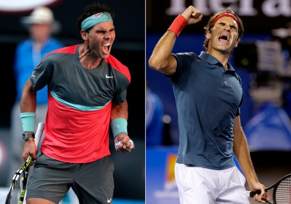 roger federer to meet rafael nadal at 2015 rome open