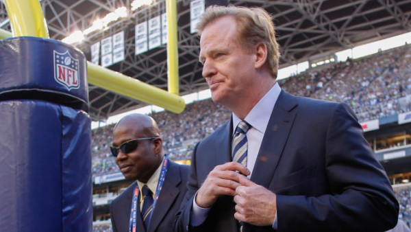 roger goodell dealing with nfl controversies