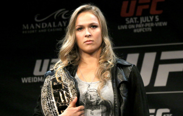 ronda rousey most inspiring athletes 2015