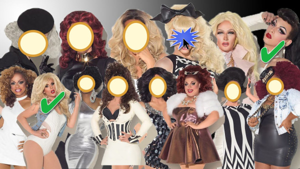 rupauls drag race season 7 cast trixie voted off again