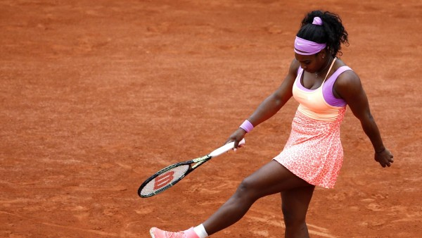 serena williams fourth round french open 2015