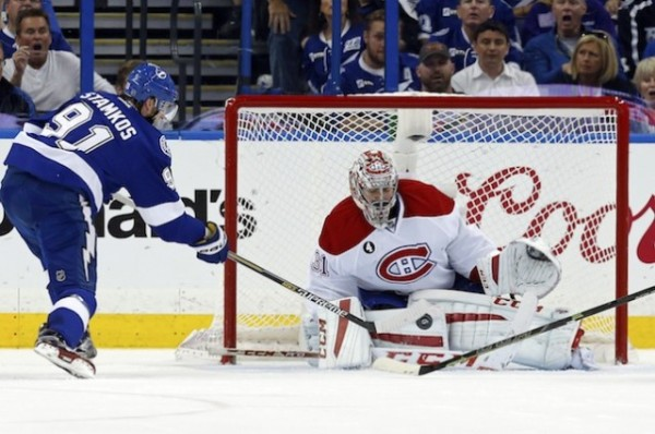 steven stamkos crucial goal for lightning vs canadiens stanley cup 2015