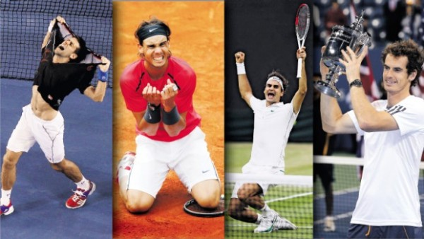 tennis big four hit 2015 rome open images