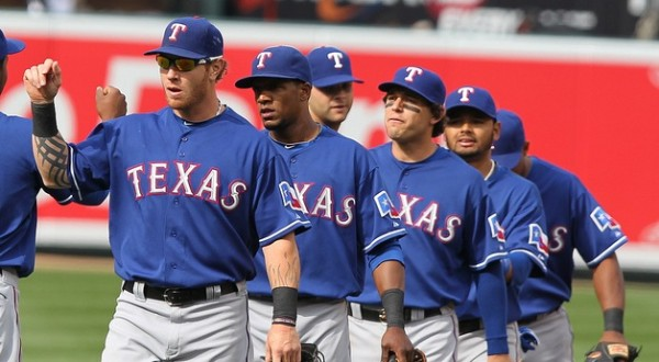 texas rangers team winner american league mlb 2015