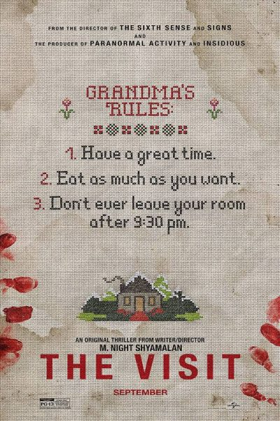 the visit movie poster 2015
