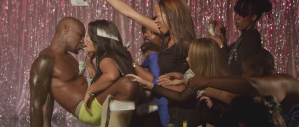 tyson beckford eating money with girls on chocolate city 2015