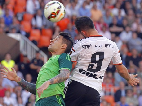 valencia draws with celta vigo la liga 2015