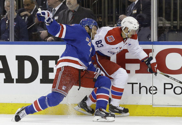 washington capitals beat rangers stanley cup playoffs 2015