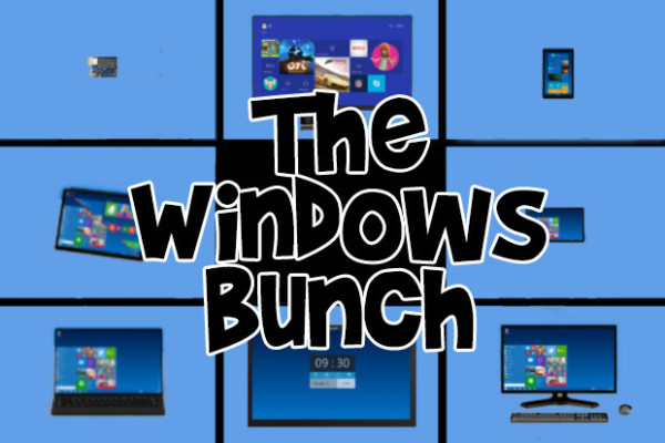 windows 10 many faces 2015
