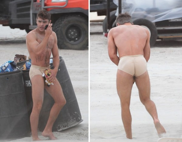 zac efron tight underwear for bad grandpa 2015