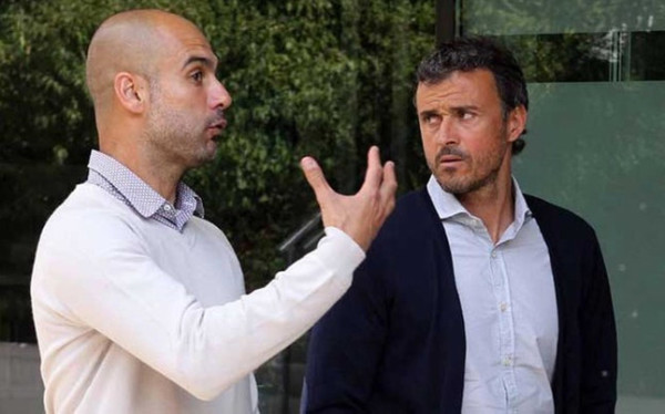 can luis enrique have same success as pep guardiola 2015