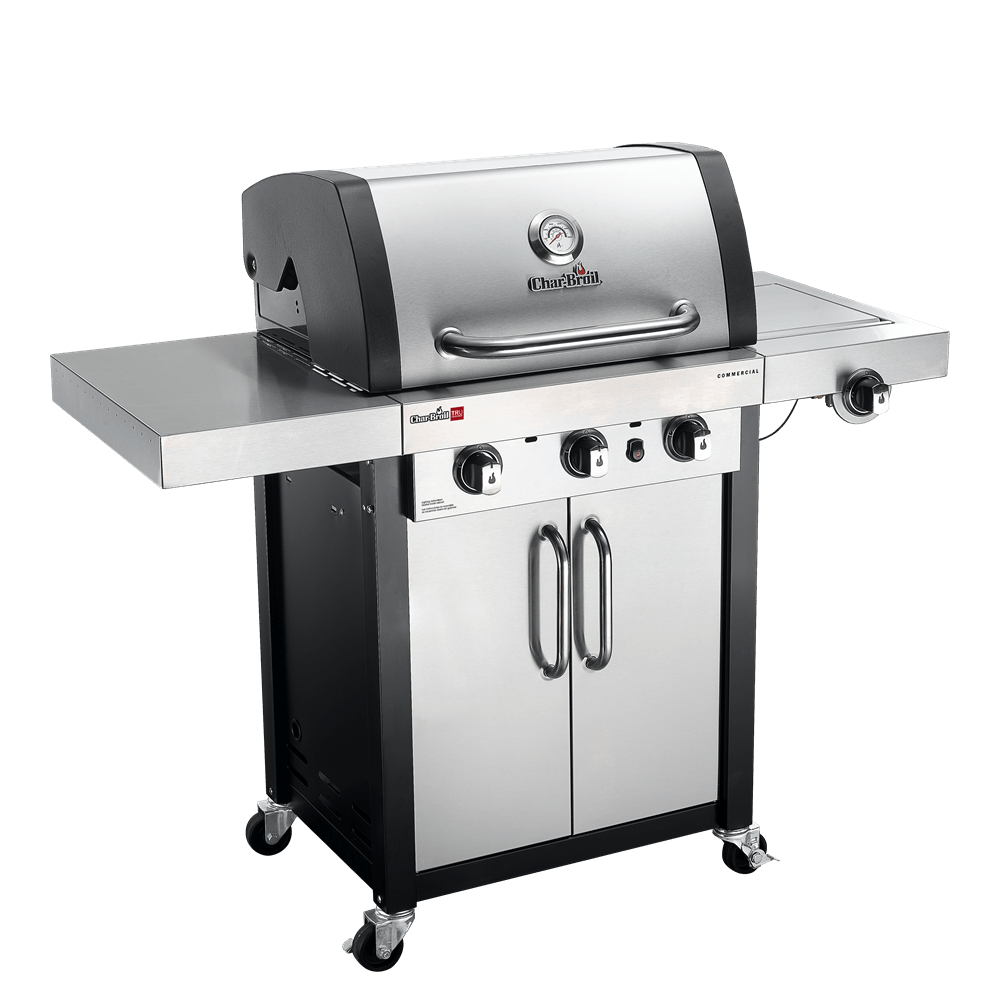 char broil infrared three burner gas grill