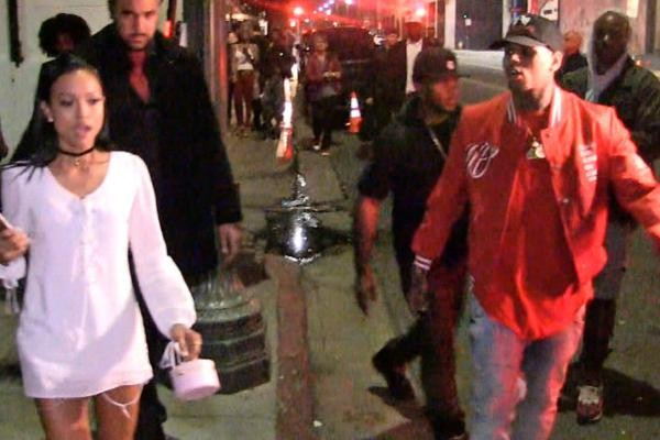chris brown yelling at karrueche tran nightclub 2015 gossip