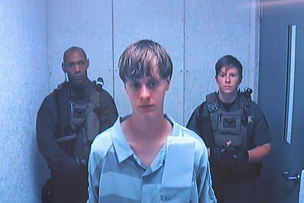dylann roof captured