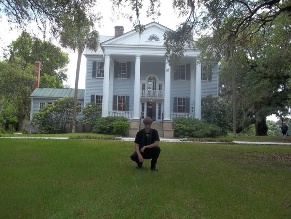 dylann roof on plantation 2015