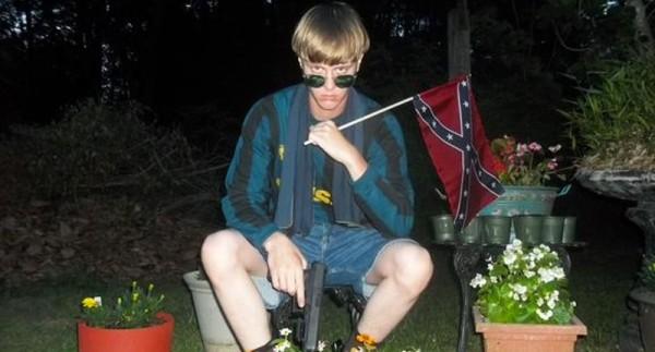dylann roof outside night 2015