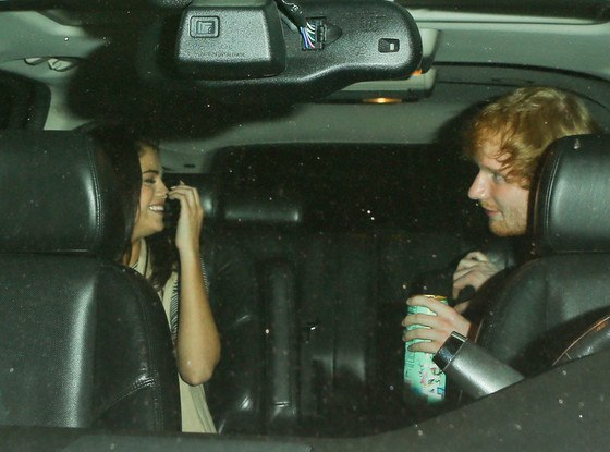 ed sheeran saves selena gomez from justin bieber 2015