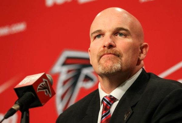 falcons dan quinn herschel walker joke 2015