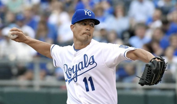 jeremy guthrie american league mlb loser week 8 2015