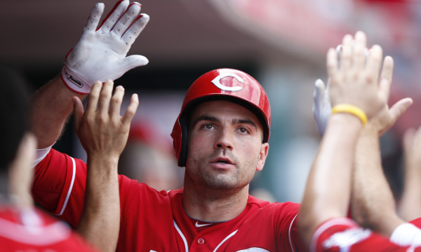 joey votto hot reds bottom boy national league 2015