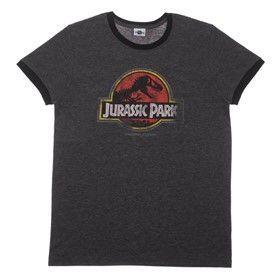 jurassic park tee shirt black 2015