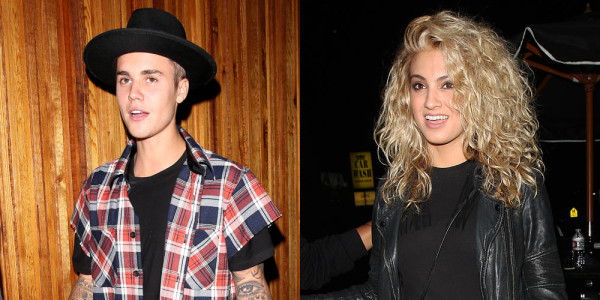 justin bieber at tori kelly album party with selena gomez 2015 gossip