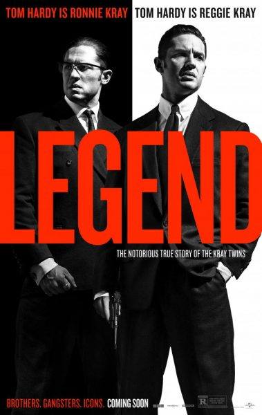 legend tom hardy poster 2015
