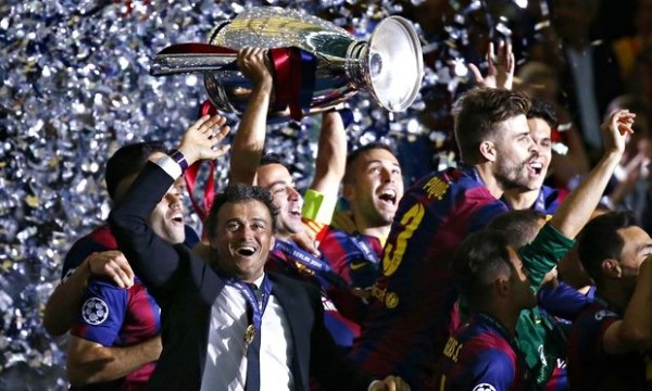 Luis Enrique staying on as barcelona manager 2015