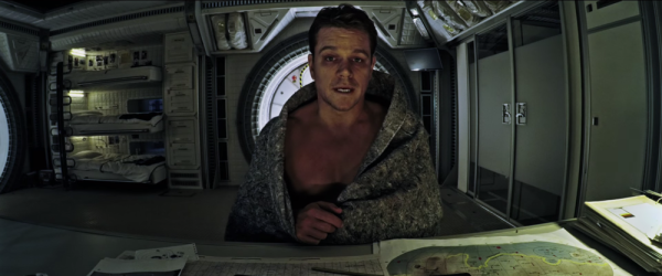 matt damon shirtless martian movie 2015